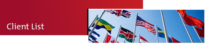 Advanse International Client List